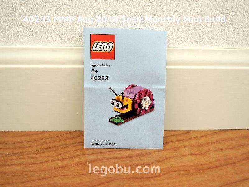 40283 MMB Aug 2018 Snail Monthly Mini Build