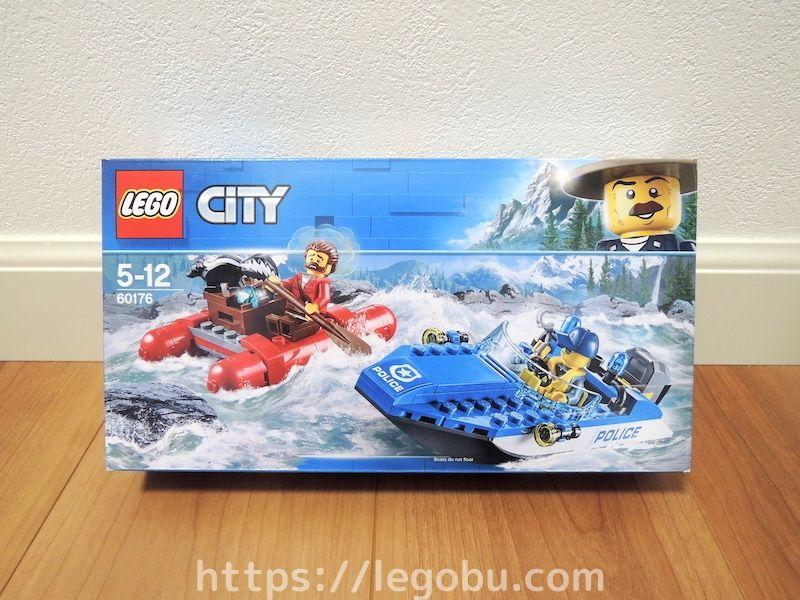 60176 激流のボートチェイス