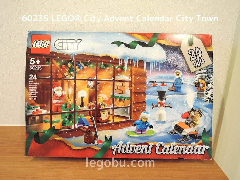 60235 LEGO® City Advent Calendar City Town