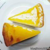 ベイクドなのにレアチーズのような『デリチュース(DELICIUS)』のチーズケーキがめちゃ美味い!