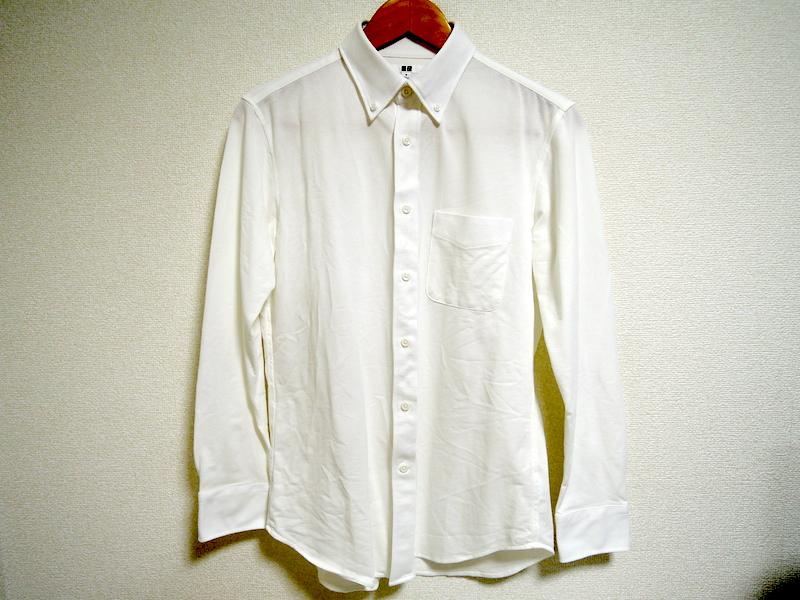 イージーケアコンフォートシャツ-洗濯後前面