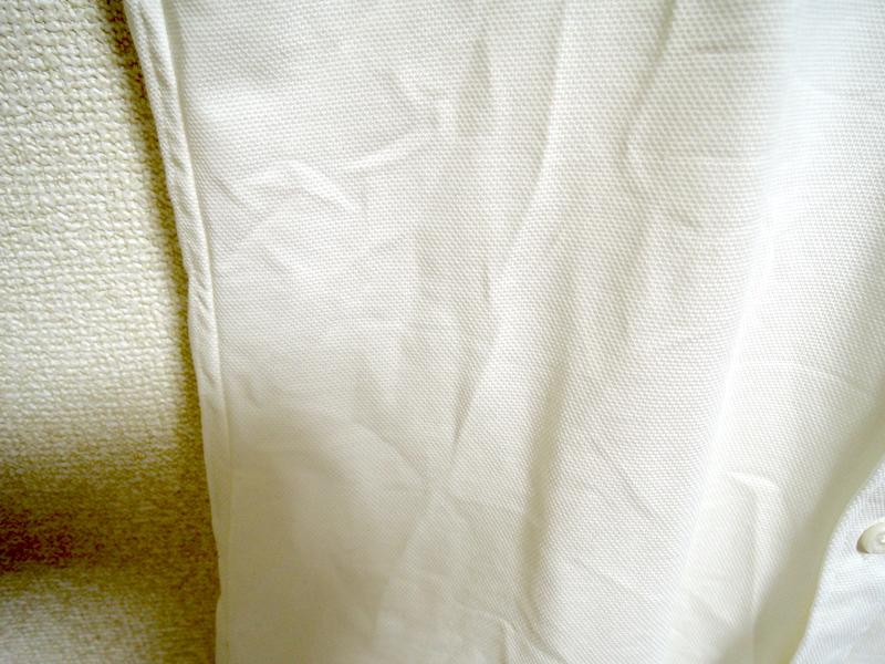イージーケアコンフォートシャツ-洗濯後部分