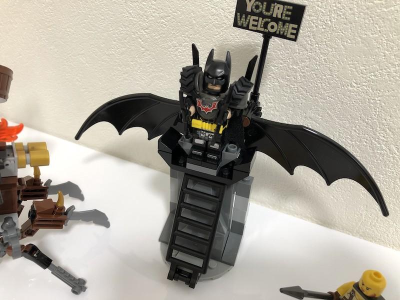 70836 バットマンとロボヒゲのアポカリプスブルグの救出 バットマンのミニフィグ